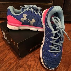 Under Armour Girls Youth Tennis Shoes